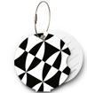 Obrázek z Jmenovka na kufr Addatag - Black and white