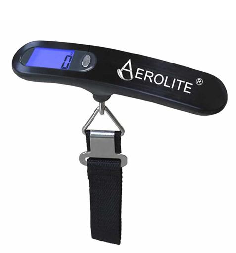 Obrázek z Váha na zavazadla AEROLITE LS022R - černá