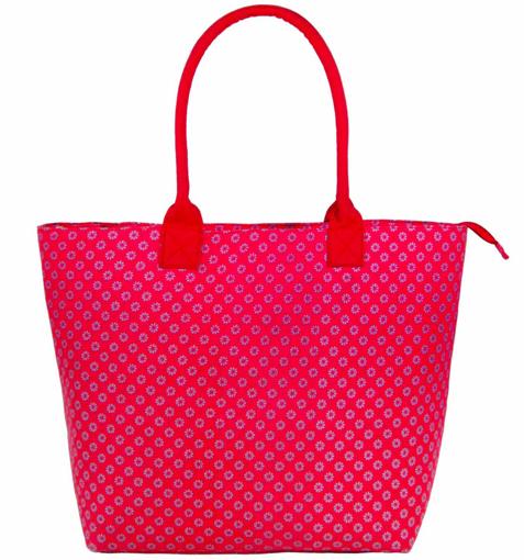 Obrázek z Dámská taška JAZZI 3155 - tmavě růžová - 31 L