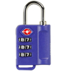 Obrázek z Bezpečnostní TSA kódový zámek na zavazadla ROCK TA-0006 - modrá