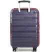 Obrázek z Cestovní kufr ROCK TR-0164/3-L PP - černá/modrá - 104 L