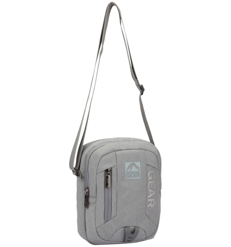 Obrázek z Taška přes rameno GEAR 9005 - šedá - 5 L