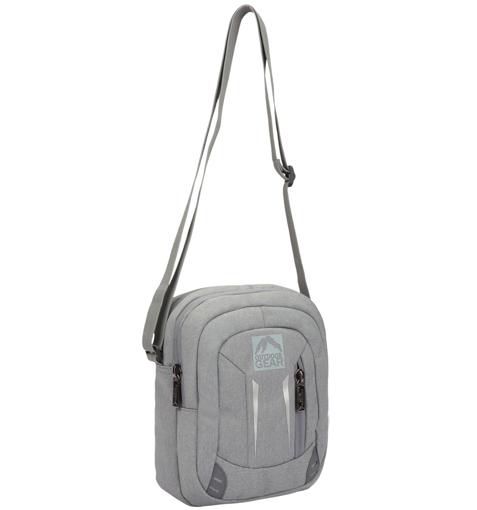 Obrázek z Taška přes rameno GEAR 9006 - šedá - 5 L