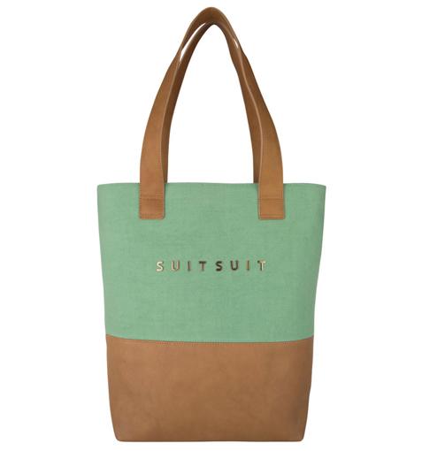 Obrázek z Dámská taška SUITSUIT® BS-71081 Basil Green - 10 L