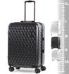 Obrázek z Cestovní kufr ROCK TR-0192/3-M ABS/PC - charcoal - 63 L
