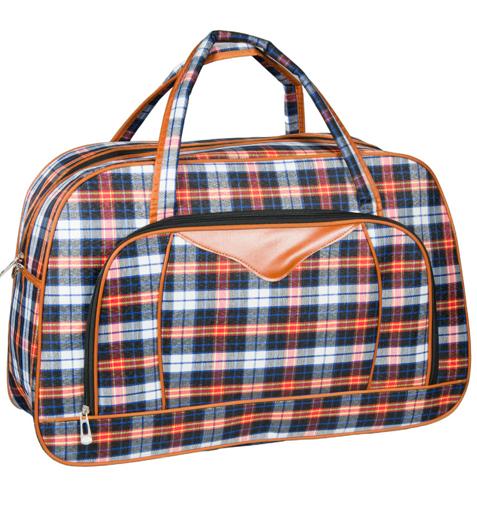Obrázek z Cestovní taška REAbags LL37 - modrá/oranžová - 37 L