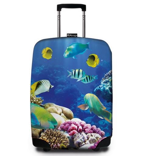 Obrázek z Obal na kufr REAbags® 9055 Deep Sea