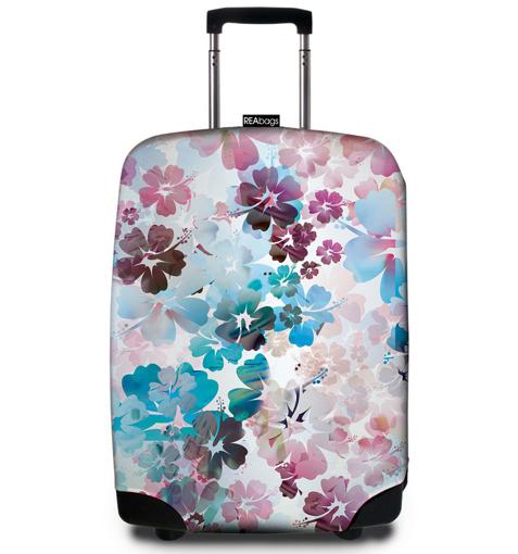 Obrázek z Obal na kufr REAbags® 9056 Beach Flowers