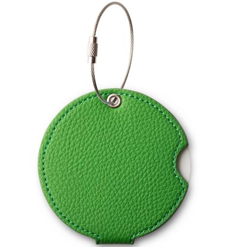 Obrázek z Jmenovka na kufr Addatag PU - Basil green