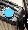 Obrázek z Jmenovka na kufr Addatag PU - Steel blue