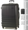 Obrázek z Cestovní kufr ROCK TR-0169/3-L ABS - černá - 86 L