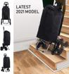 Obrázek z Nákupní taška na kolečkách HOPPA ST-501 - černá - 48 L